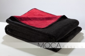 Mocadesign Koc 150x200 black & red
