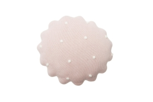 Lorena Canals Poduszka Round Biscuit Pink Pearl